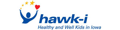 Hawk-i logo | Children's Dental Centre, Sioux Center, IA