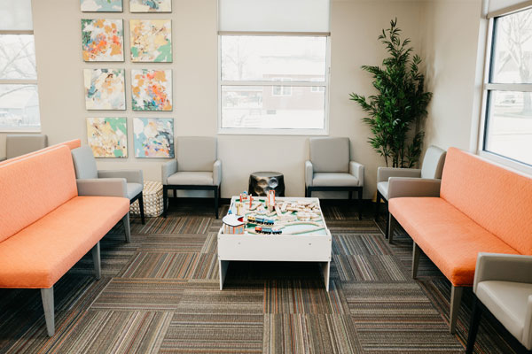 Waiting room | Children's Dental Centre, Sioux Center, IA
