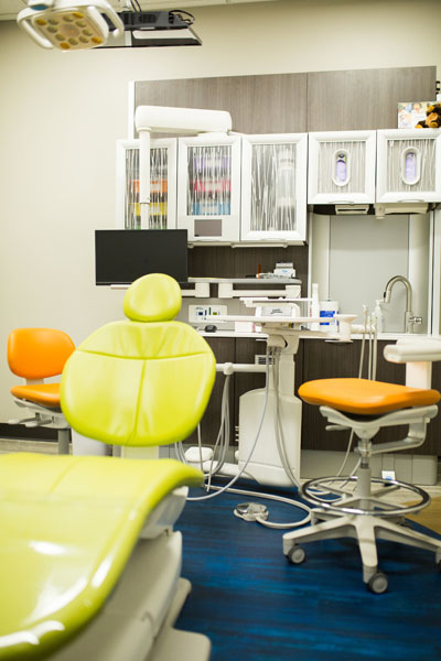Exam rooms | Children's Dental Centre, Sioux Center, IA